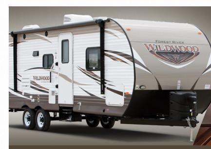 2017 Wildwood 28DBUD Camping / RV Trailer
