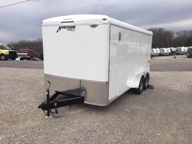 2019 Homesteader Inc. 716CT Enclosed Cargo Trailer