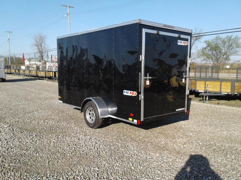 2019 Bravo Trailers Hero 6 x 12 w/ Ramp Enclosed Cargo Trailer