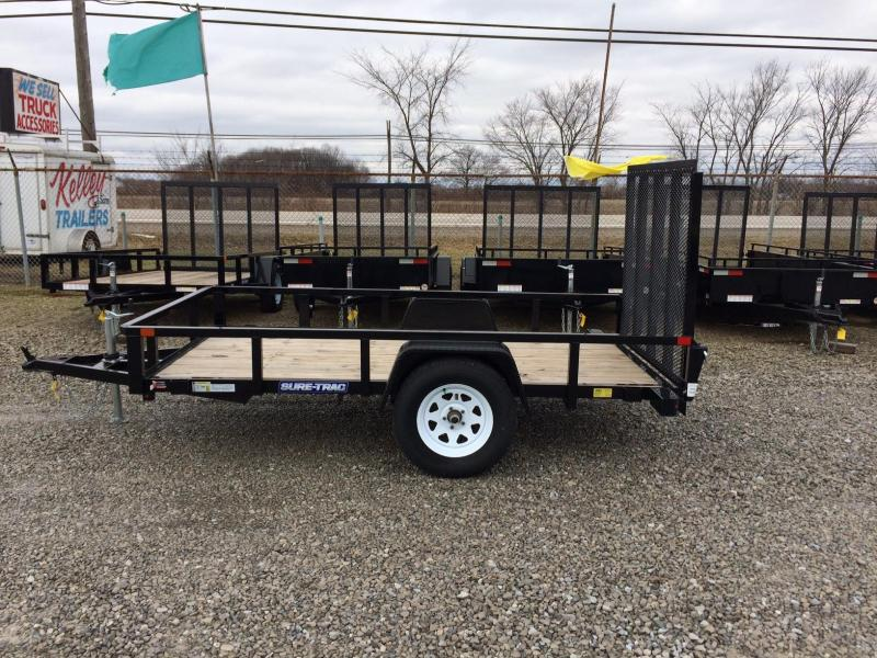 2017 Sure-Trac 5 x 10 Tube Top Utility Trailer