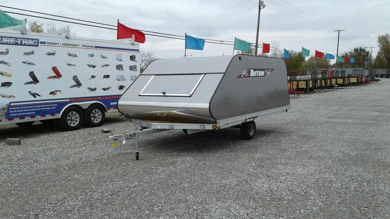 2018 Triton Trailers XT12VR 2 Place Snowmobile Trailer