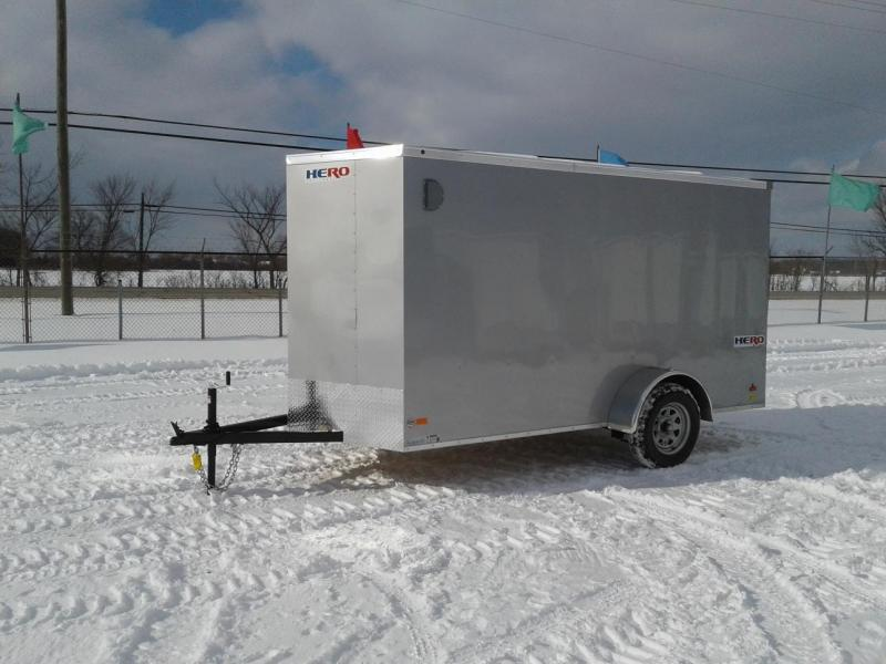 2019 Bravo Trailers 6 x 12 Hero w/ramp Enclosed Cargo Trailer