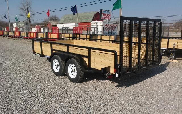 2017 Sure-Trac 7 x 14 Tandem Axle 3 Board