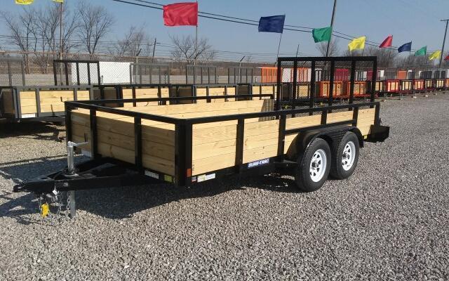 2018 Sure-Trac 7 x 14 Tandem Axle 3 Board