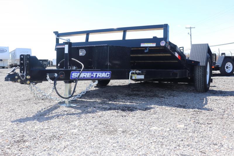 "2019 Sure-Trac 78""x12 7.8K Tilt Bed Equipment Trailer"