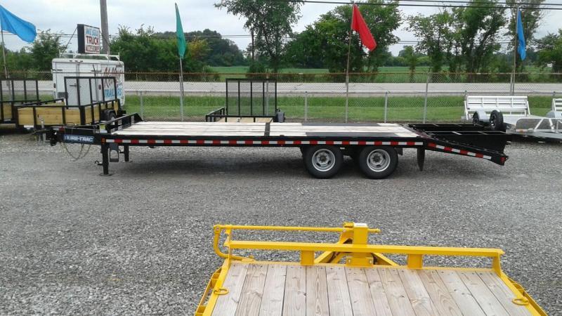 2017 Sure-Trac 20 5 22.5k Bumperpull Deckover Equipment Trailer