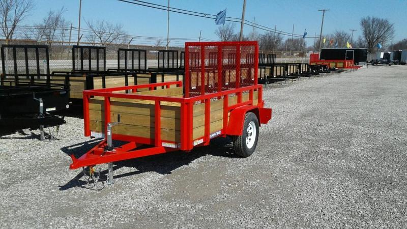 2017 Sure-Trac 5 x 8 3 Board Utility Trailer