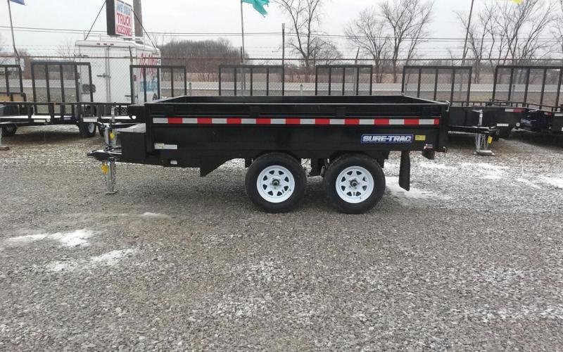 2017 Sure-Trac 6 x 10 7k Deckover Dump Trailer
