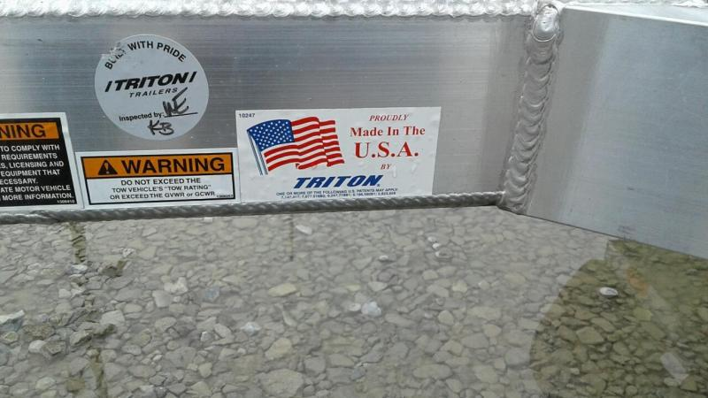 2017 Triton AUT 1482 Utility Trailer