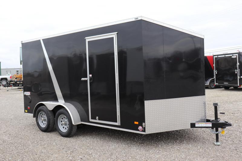 2019 Bravo Trailers 7x14 Scout w/ Ramp Door Enclosed Cargo Trailer