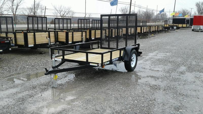 2017 Sure-Trac 5 x 8 Angle Iron Utility Trailer