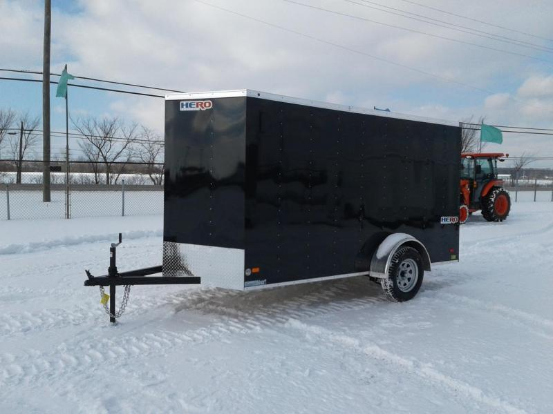2018 Bravo Trailers Hero 6x12 w/ramp Enclosed Cargo Trailer