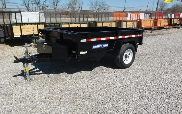 2017 Sure-Trac 5 x 8 Low Profile Dump Trailer