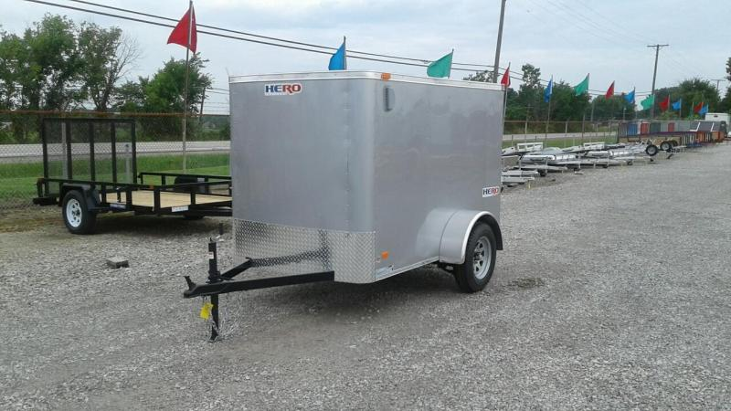 2018 Bravo Trailers 5 x 8 Hero Enclosed Cargo Trailer