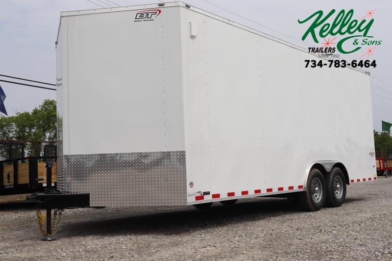 2020 Bravo Trailers 8.5x20 10K Scout Car Racing Trailer