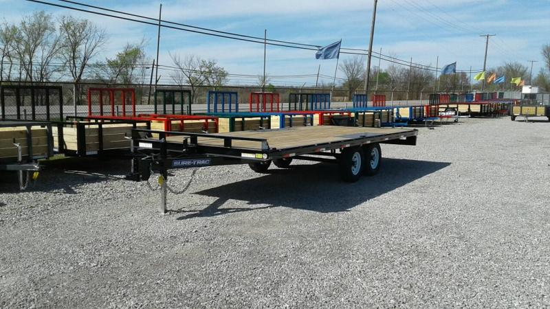 2018 Sure-Trac 20' 10K Deckover Equipment Trailer
