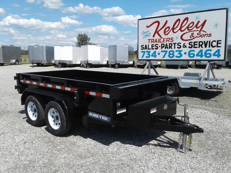 "2019 Sure-Trac 62""x10 7K Single Ram Dump Trailer"