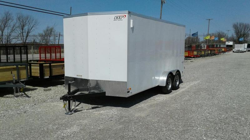 2018 Bravo 7 x 16 Scout w/ Double Doors Enclosed Cargo Trailer