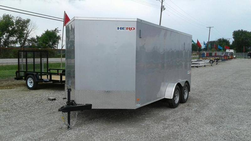 2018 Bravo Trailers 7 x 14 Hero Enclosed Cargo Trailer