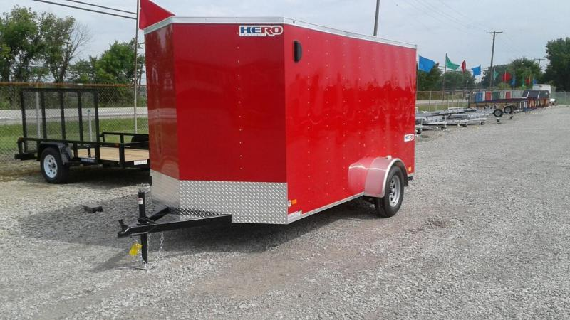 2018 Bravo Trailers 6 x 12 Hero Enclosed Cargo Trailer