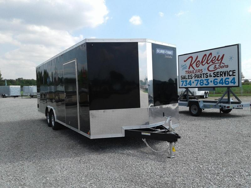 2019 Sure-Trac 8.5x24 10K Pro Series Wedge Car Hauler