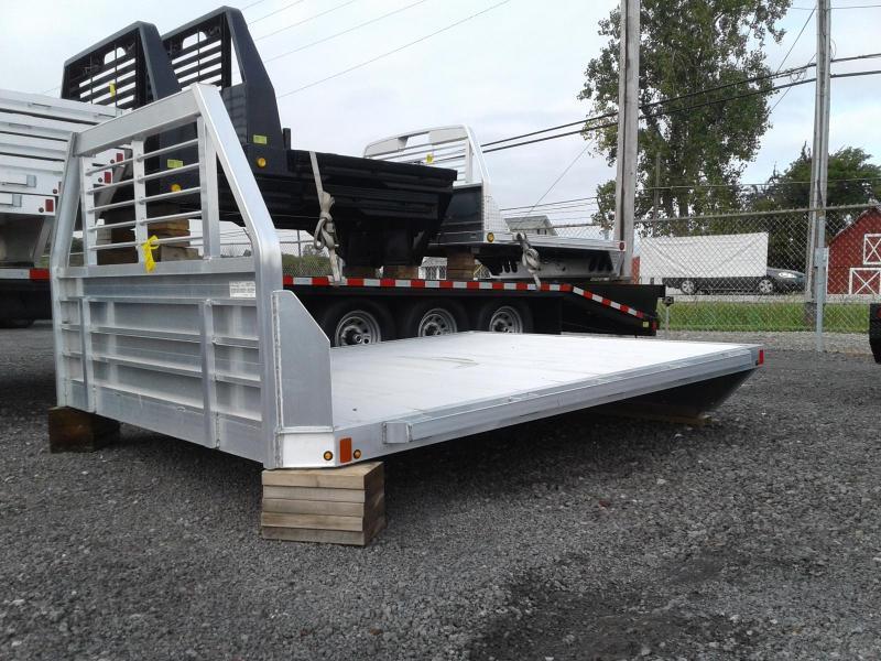 2018 Used Aluma Long Bed Single Wheel Truck Bed