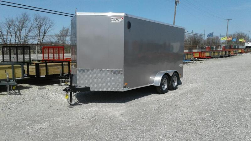 2018 Bravo 7 x 14 Scout Enclosed Cargo Trailer