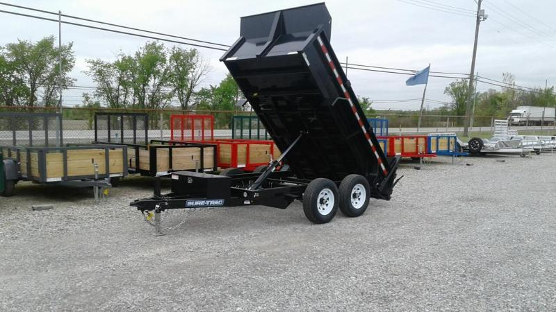 "2018 Sure-Trac 72"" x 10 10K Single Ram Dump Trailer"
