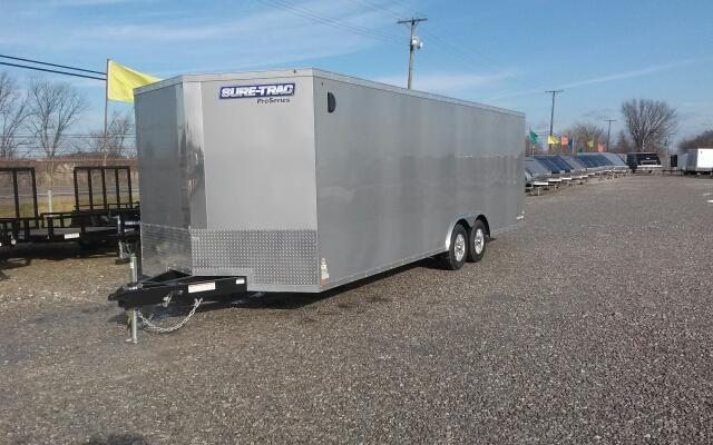 2018 Sure-Trac 24' Wedge Car / Racing Trailer