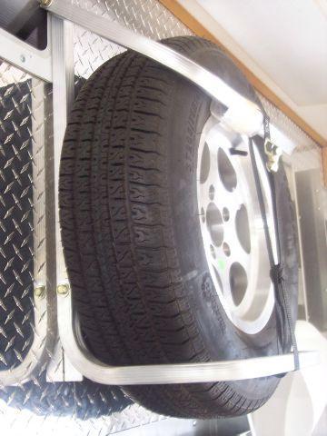 2017 Aluminum Spare Tire Mount