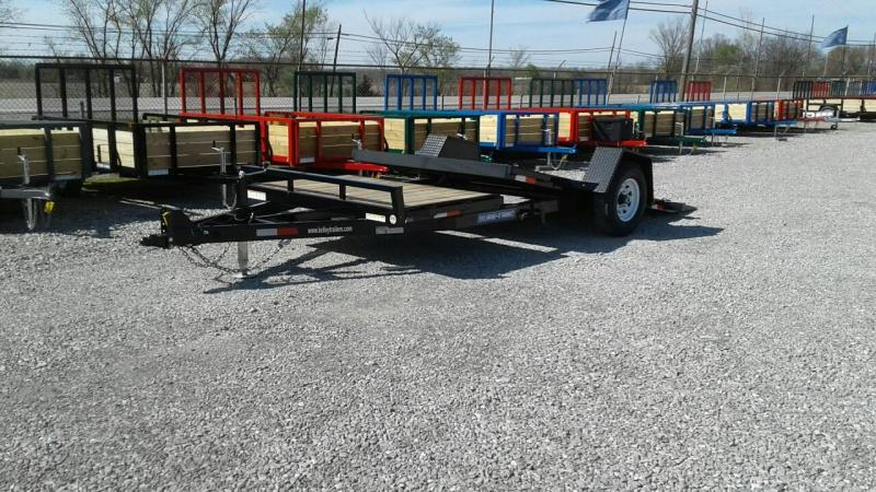 "2018 Sure-Trac 78"" x 12 + 4 Tilt Bed Equipment Single Axle"