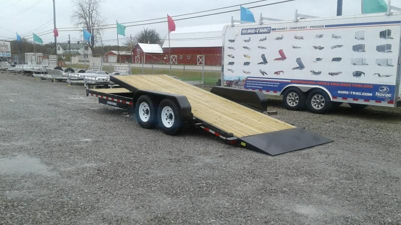 2018 Sure-Trac 7x18+4 14K Tilt Bed Equipment Trailer