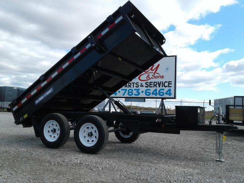 "2018 Sure-Trac 72""x10 7K Single Ram Deckover Dump"