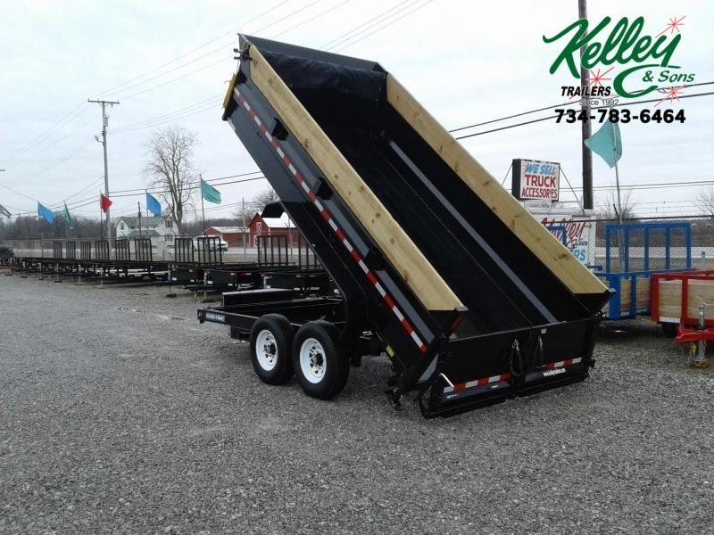 "2020 Sure-Trac 82""x14 14K Scissor Dump Pro Series Trailer"