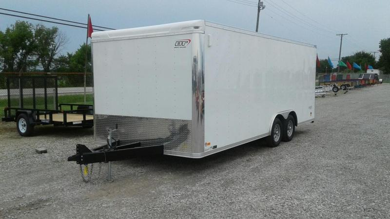 2018 Bravo Trailers 20 Star Landscape Enclosed Cargo Trailer