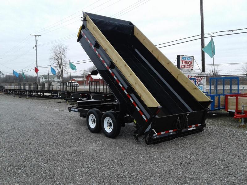 "2019 Sure-Trac 82""x14 14K Scissor Dump Pro Series Trailer"