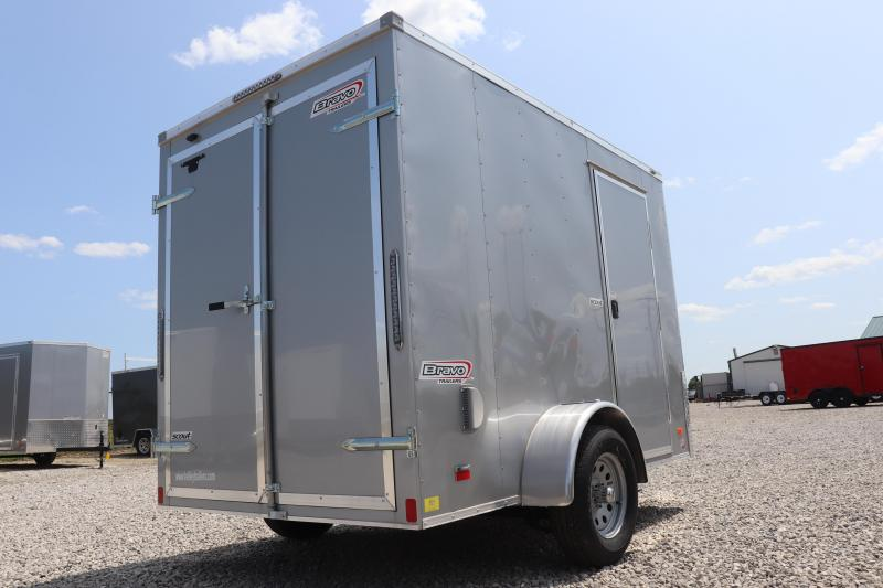 2020 Bravo Trailers 6x10 Scout Enclosed Cargo Trailer