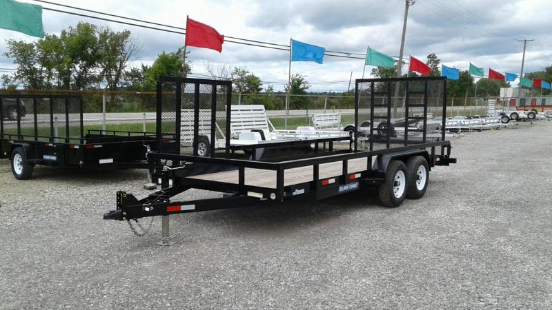 2017 Sure-Trac 18' 10K Tube Top Utility Trailer
