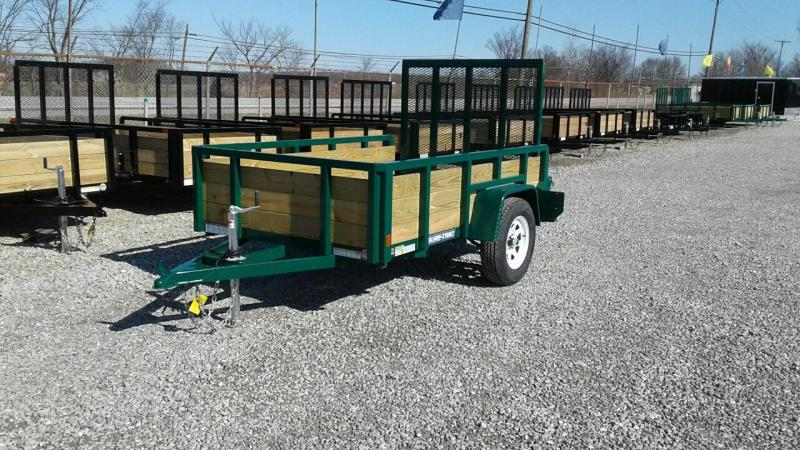 2017 Sure-Trac 5 x 8 3-Board Utility Trailer