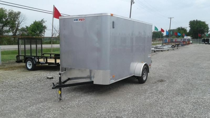 2017 Bravo Trailers 6 x 12 Hero w/ Double Doors Enclosed Cargo Trailer