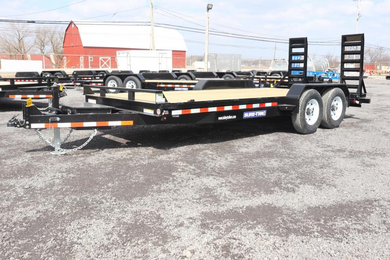 2019 Sure-Trac 7x18 14K Implement Equipment Trailer