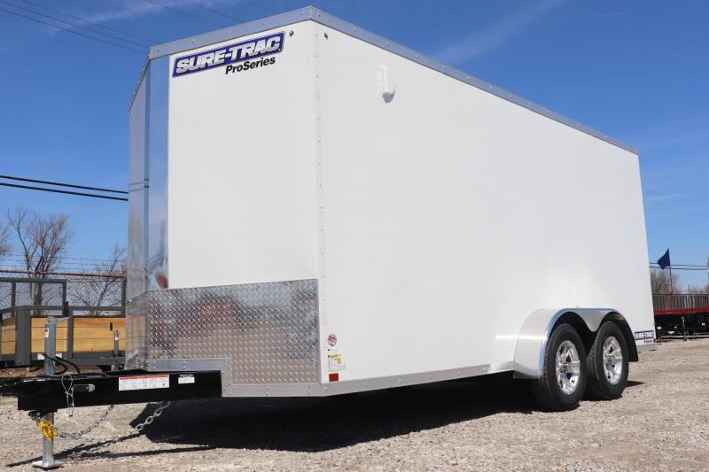 2019 Sure-Trac 7x16 7K Pro Series Wedge Cargo