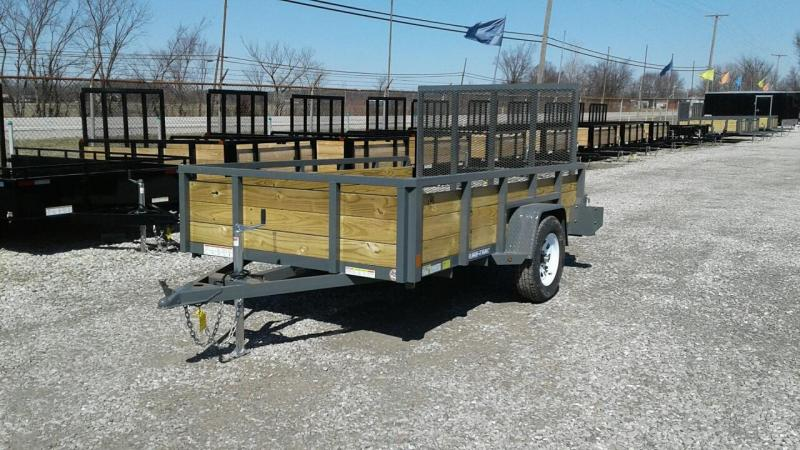 2018 Sure-Trac 6 x 10 3 Board Utility Trailer