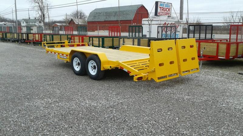 2017 Sure-Trac 15' + 3' 14K Universal Ramp Equipment Trailer