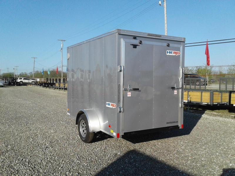 2019 Bravo Trailers 6 x 10 Hero Enclosed Cargo Trailer