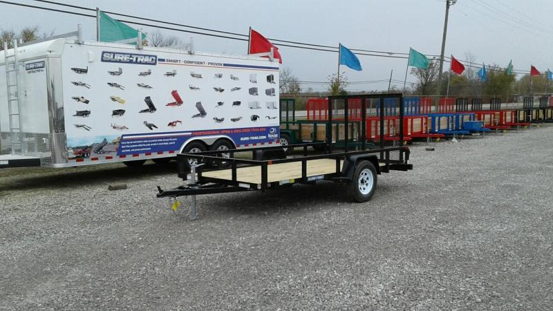 2018 Sure-Trac 6 x 12 Tube Top Utility Trailer