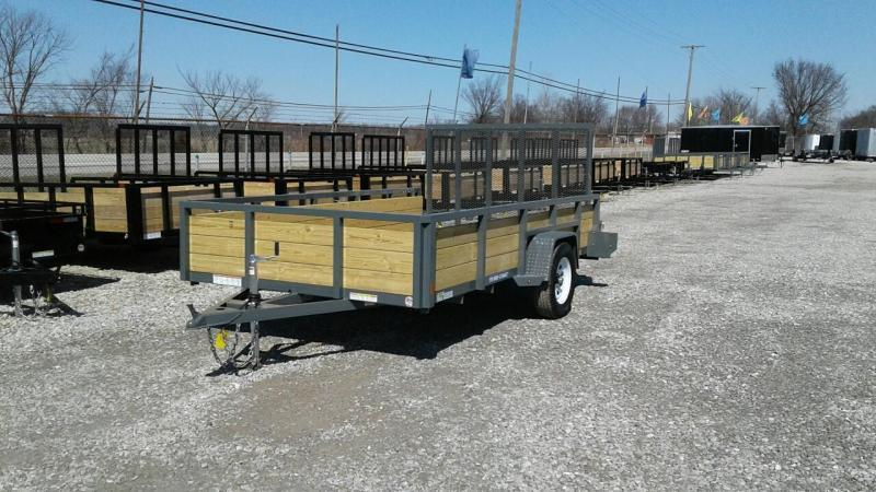 2018 Sure-Trac 7x12 3-Board Utility Trailer