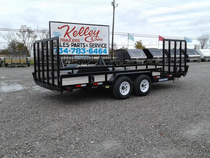 2017 Sure-Trac 7x18 10K Tube Top Utility Trailer