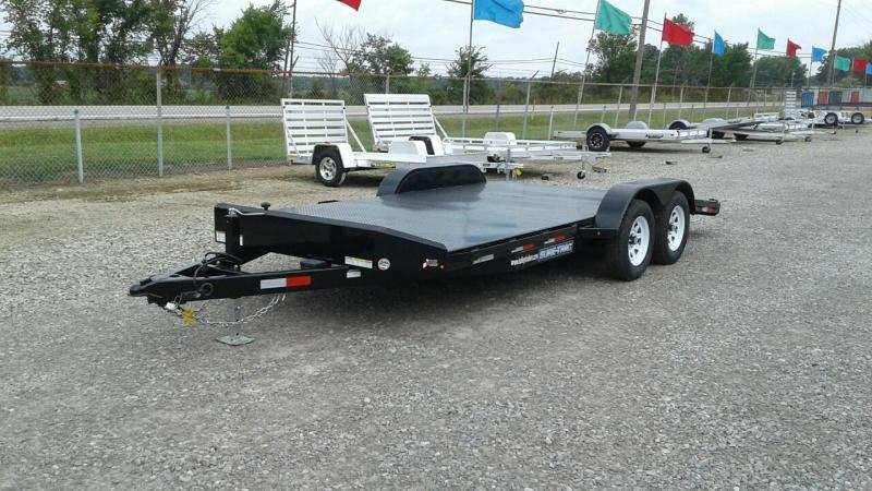 2017 Sure-Trac 18 Steel Deck Car Hauler