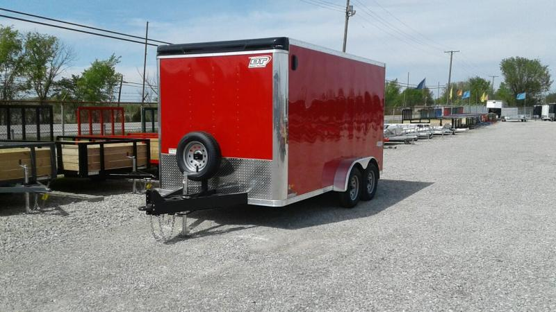 2018 Bravo 7 x 14 Star Enclosed Cargo Trailer